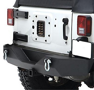 Jeep Wrangler JK With Aftermarket Bumper