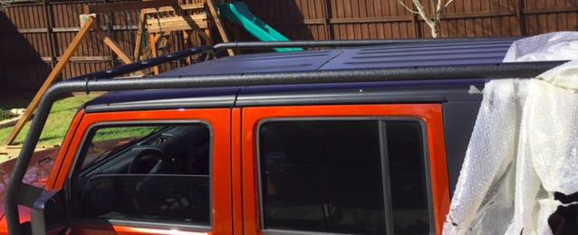 How To Install A Barricade Roof Rack Textured Black On