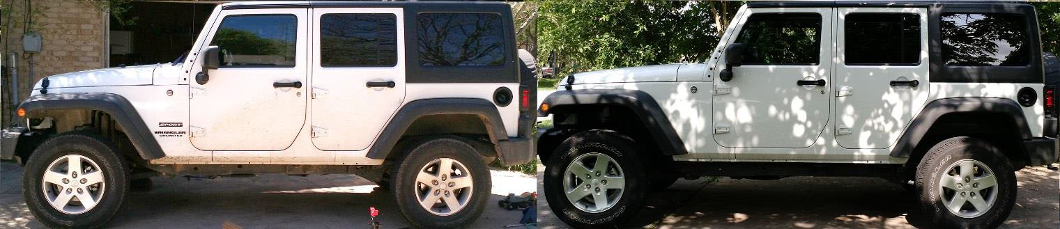 how to install a rough country in body lift w o shocks on your 2007 15 jeep wrangler jk 4. Black Bedroom Furniture Sets. Home Design Ideas
